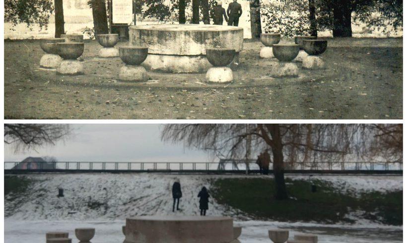 Masa Tăcerii – Parcul Central din Târgu Jiu