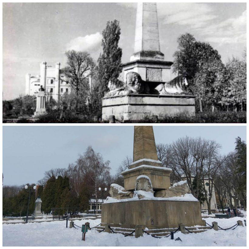Monumentul Regulamentului Organic – Parcul Copou din Iași