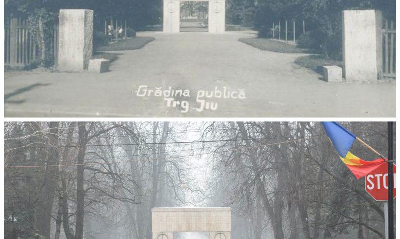 Poarta Sărutului – Parcul Central din Târgu Jiu